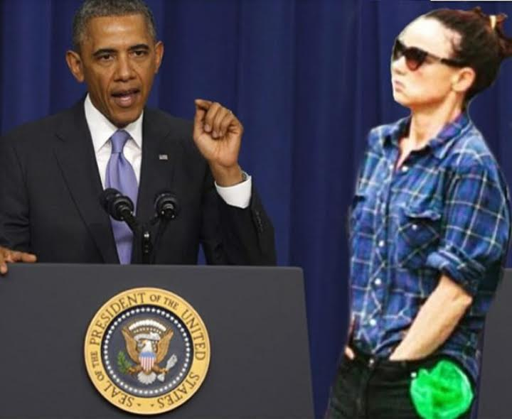 Juliette Lewis and Obama