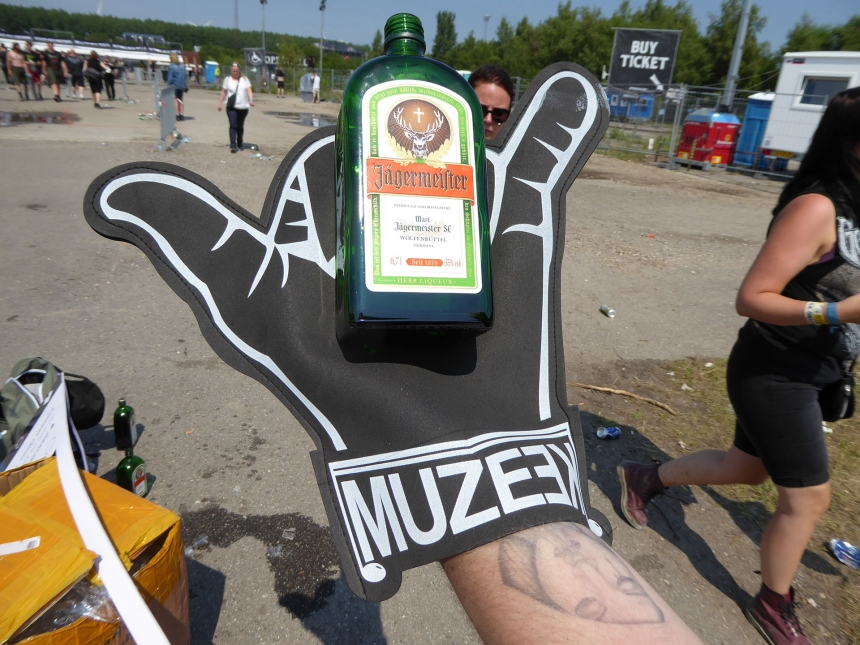 Jägermeister & Muzeek på Copenhell