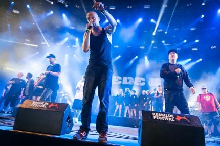 Pede B & Dj Noize på Arena, Roskilde Festival 2015